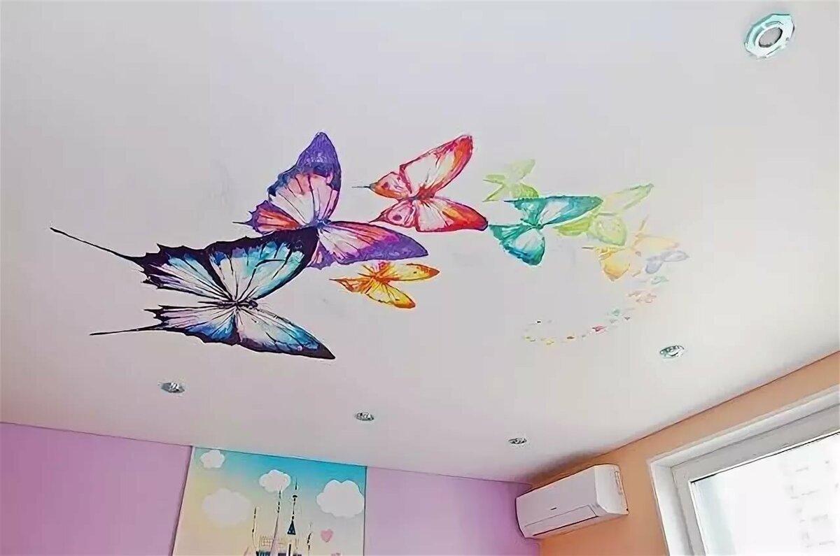 Картинки для фотопечати на потолке в детскую