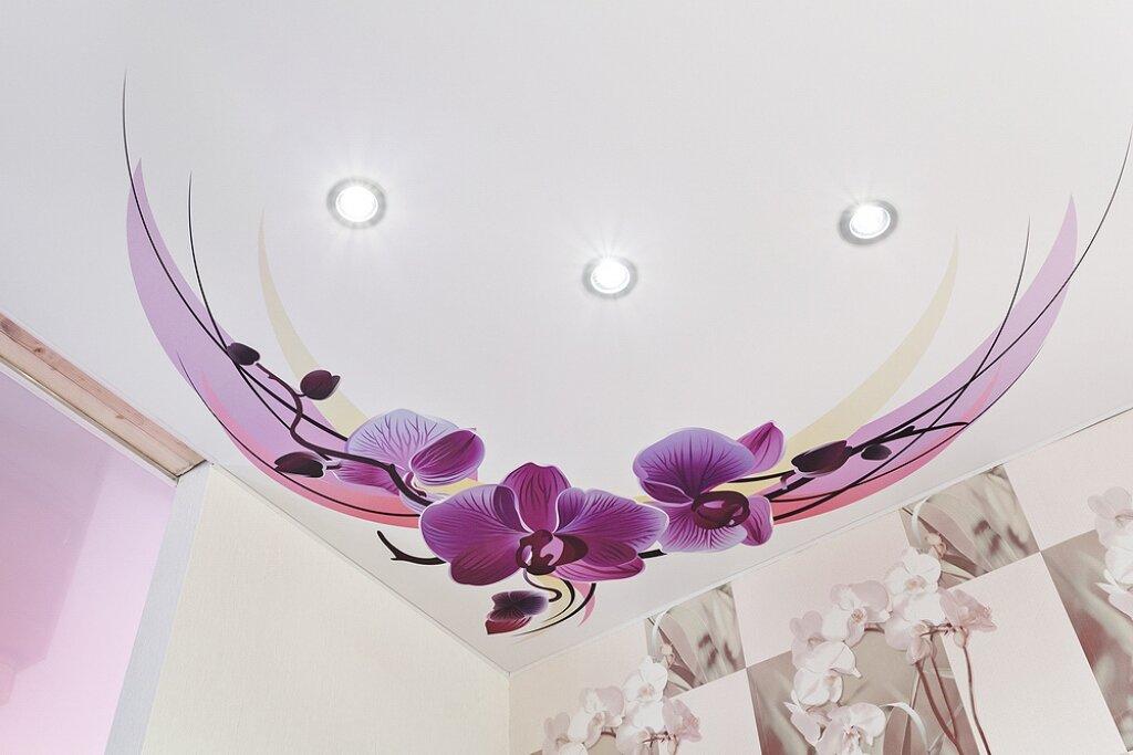 увлекательное натяжной потолок с фотопечатью в спальне фото любят взрослые дети
